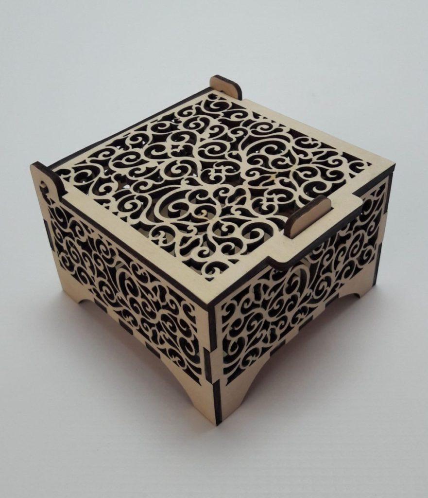 Decorative boxes caliptos ltd laser cutting and - Decorative storage boxes ...