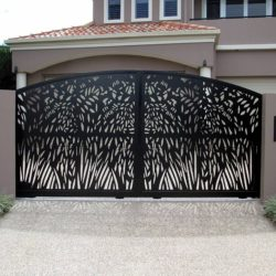 Laser-Cut-Sliding-Gate-Gold-Coast
