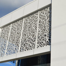 Laser-cut-powder-coated-vine-pattern