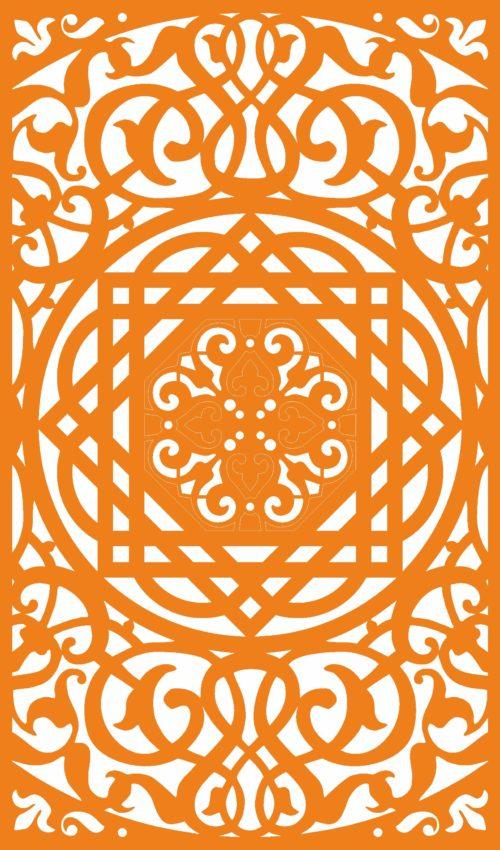 Орнамент за декоративни плоскости 5