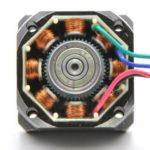 Дефектен сектор на стъпков електромотор